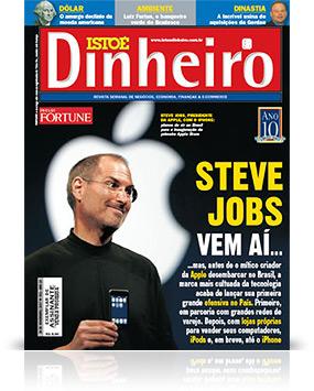 88509327a88 Steve Jobs e Apple são capa da ISTOÉ Dinheiro – MacMagazine.com.br