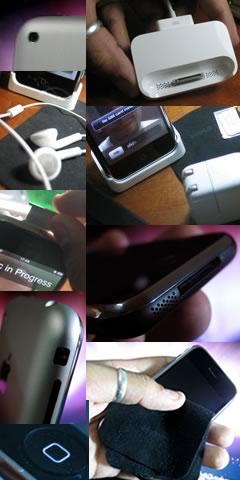 Partes e acessórios do iPhone
