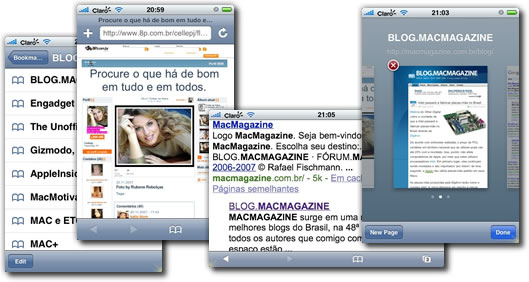 Safari no iPhone
