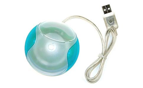 Mouse do primeiro iMac (1998)