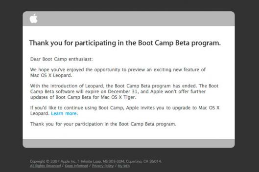 Newsletter do Boot Camp Beta