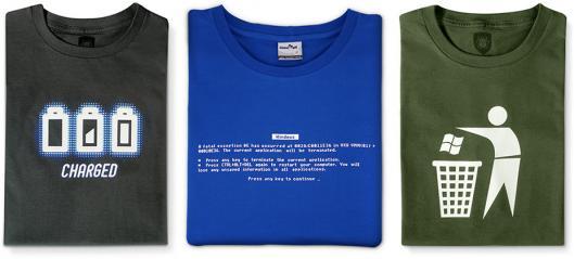 Camisetas Linux Mall