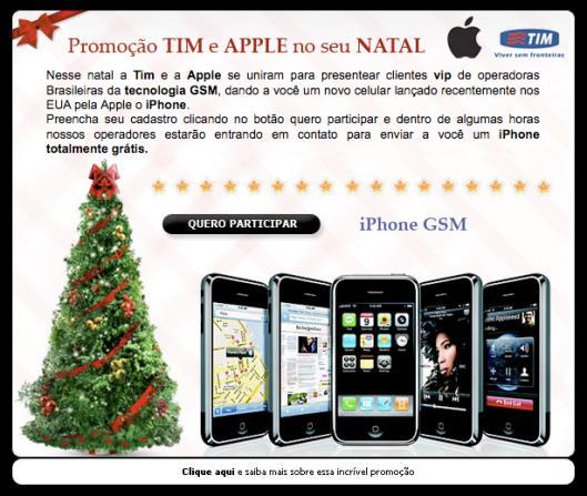 Phishing TIM iPhone