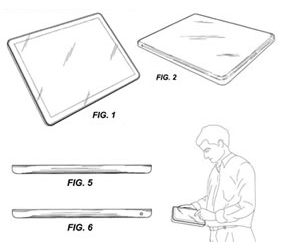 Apple Tablet layouts