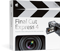 Caixa do Final Cut Express 4