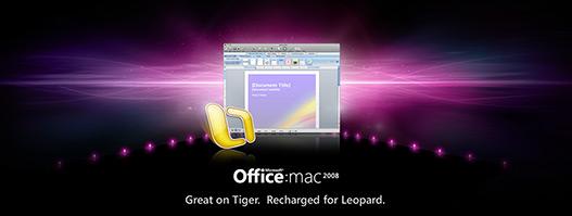 Microsoft Office 2008 para Mac