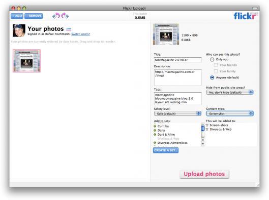 Flickr Uploader 3.0