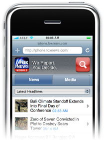 FoxNews no iPhone