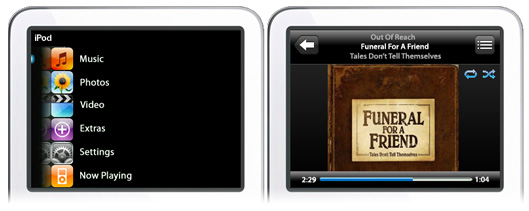 iPod touch to iPod video interface