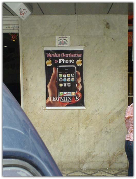 iPhone é vendido em Itajubá