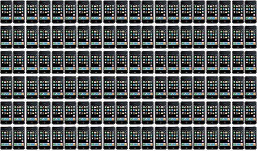 Muitos iPhones
