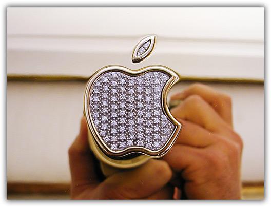Apple de diamantes