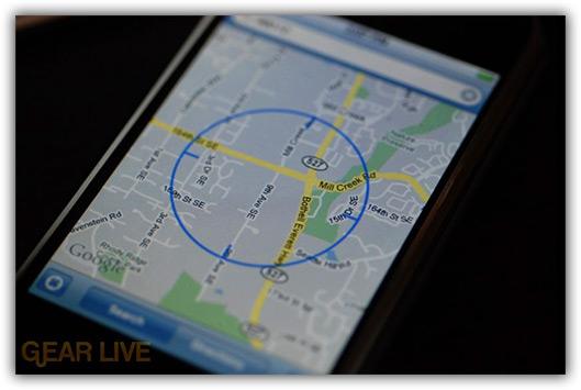 Google Maps no iPhone 1.1.3