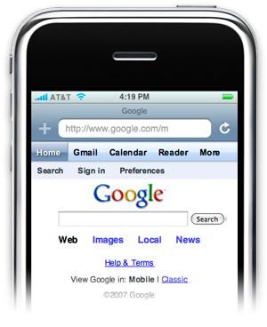 Google no iPhone