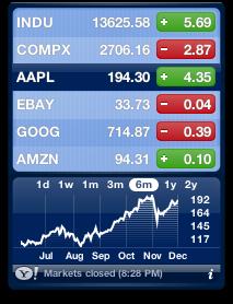 Widget Stocks