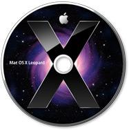 DVD do Mac OS X 10.5 Leopard