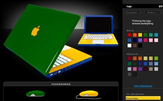 Colorindo o MacBook com as cores do Brasil