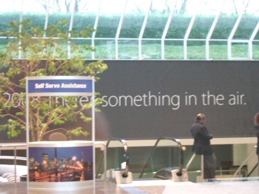 Banner no Moscone Center
