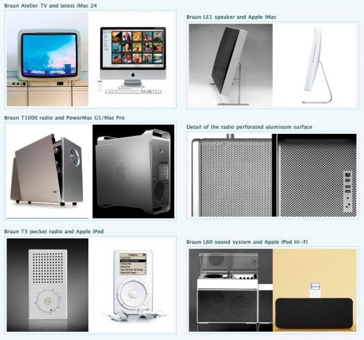Design Apple x Braun