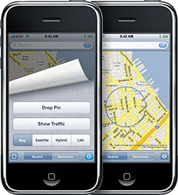 Maps no iPhone