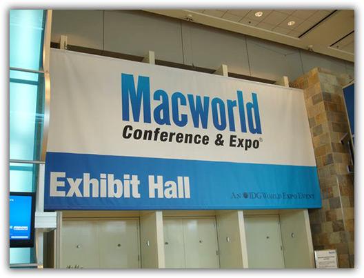 Hall de Exibição da Macworld Expo