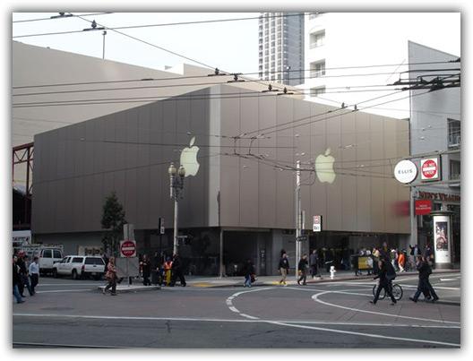 Parada obrigatória na Apple Store