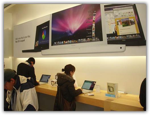 MacBooks a rodo