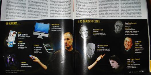 Apple é assunto da Revista Veja