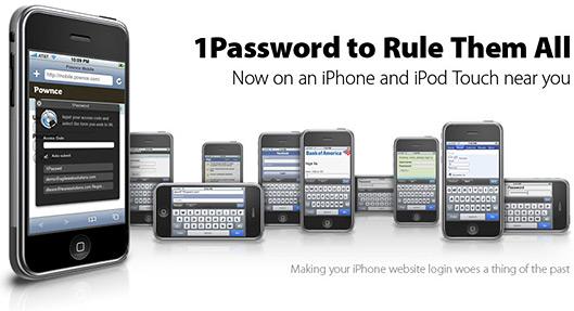 1Password para iPhones