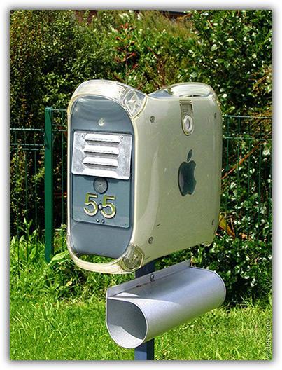 Power Mac G4: caixa de Correios