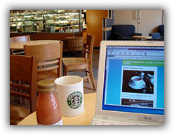 Wi-Fi no Starbucks