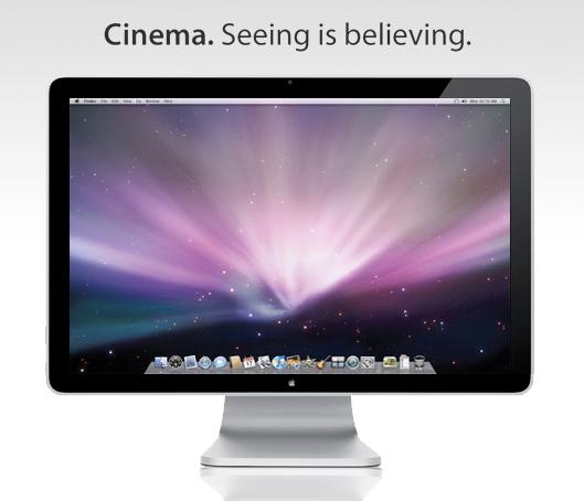 Cinema Display mock-up