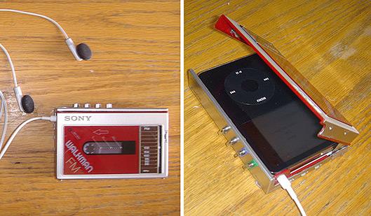 iPod disfarçado de Walkman