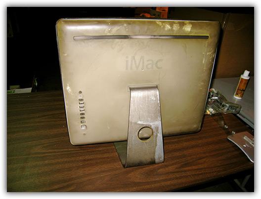 iMac G5 queimado