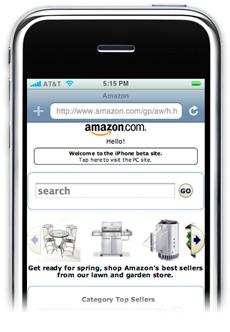 Amazon no iPhone