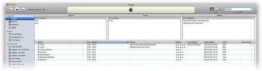 Classificação por estrelas no iTunes