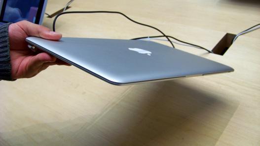 Espessura do MacBook Air