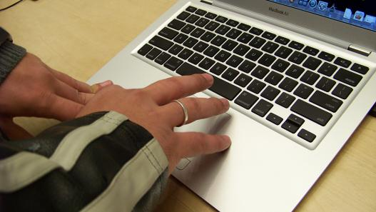 Touchpad do MacBook Air