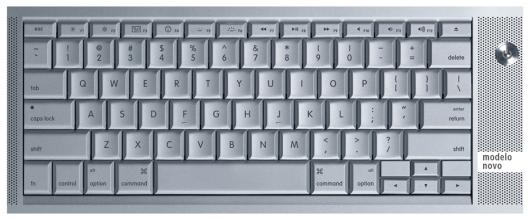 Novo teclado do MacBook Pro