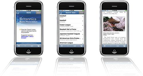Enciclopédia Britannica agora em iPhones e iPods touch
