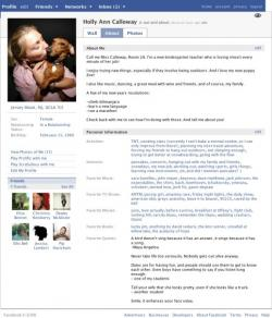 Layout Facebook