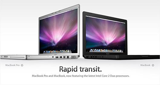 Novos MacBooks