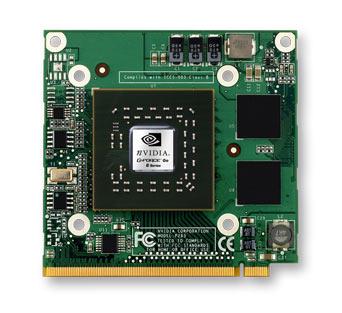 Módulo de vídeo nVidia GeForce 8600M