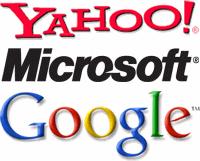 Yahoo! Microsoft Google
