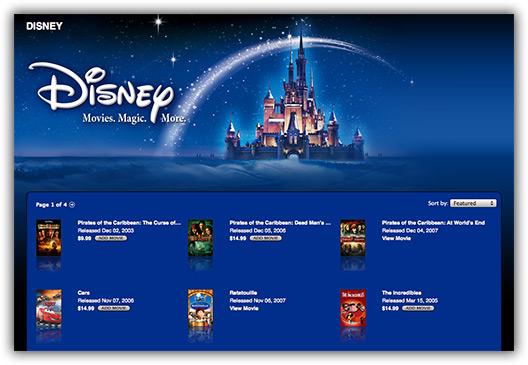 Disney na iTunes Store