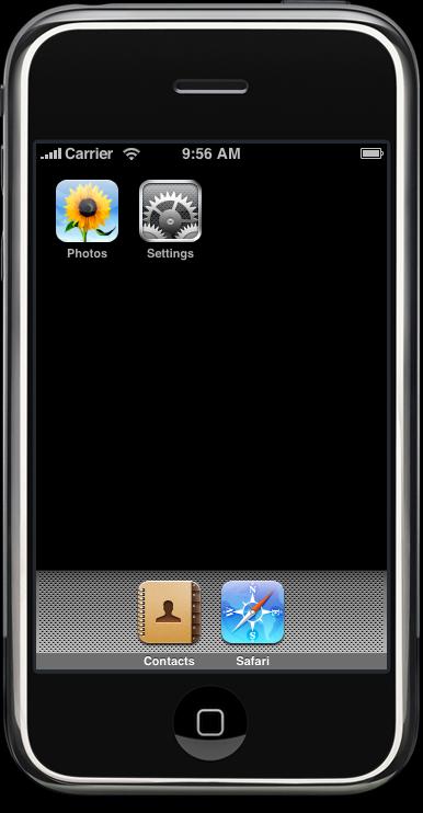 Simulador em Aspen do iPhone