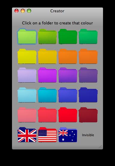 Coloured Folder Creator