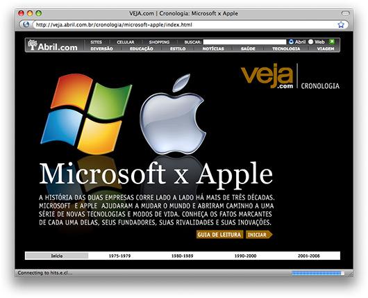 Veja: cronologia Apple + Microsoft