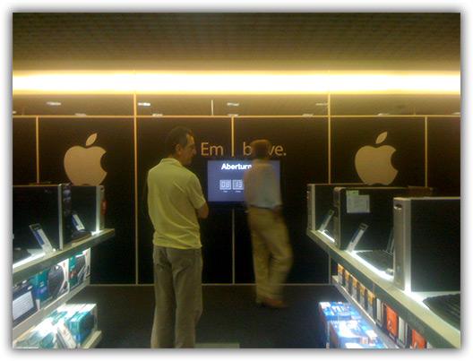Apple na Fnac do BarraShopping do Rio