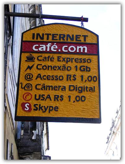 Internet de 1GB no Pelourinho
